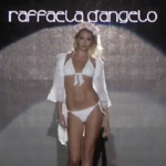RAFFAELA D'ANGELO Summer 2013 Blue Fashion Beach Milan