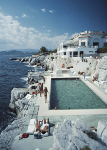 The French Riviera, a target of Slim Aarons